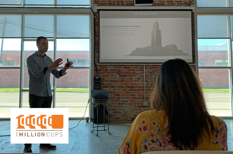 Zach Soflin Speaks at 1 Million Cups Lincoln