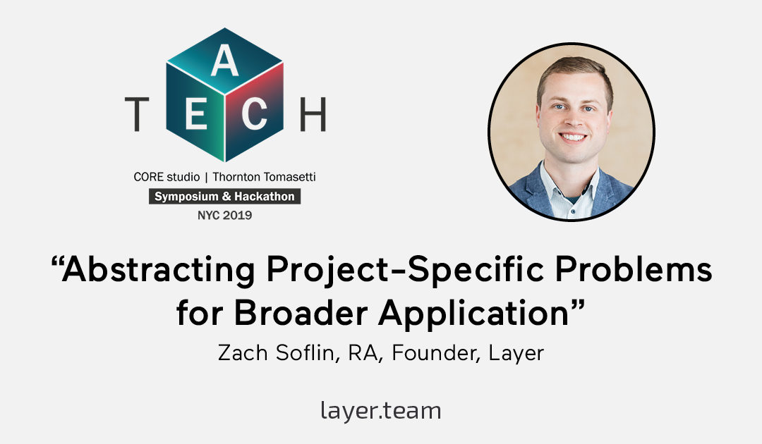 Zach Soflin, RA, to speak at AEC Tech Symposium