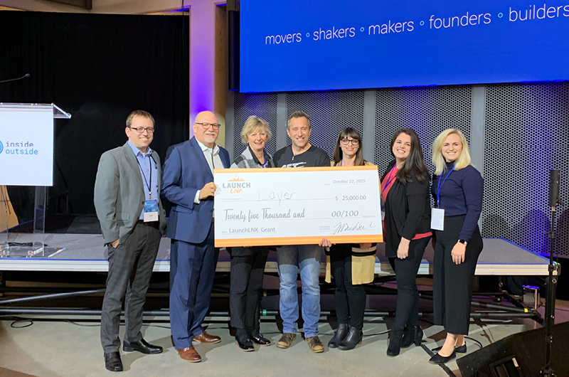 Layer wins IO Summit Pitch Competition!