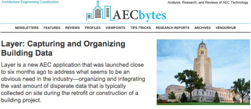 AEC Bytes Reviews Layer