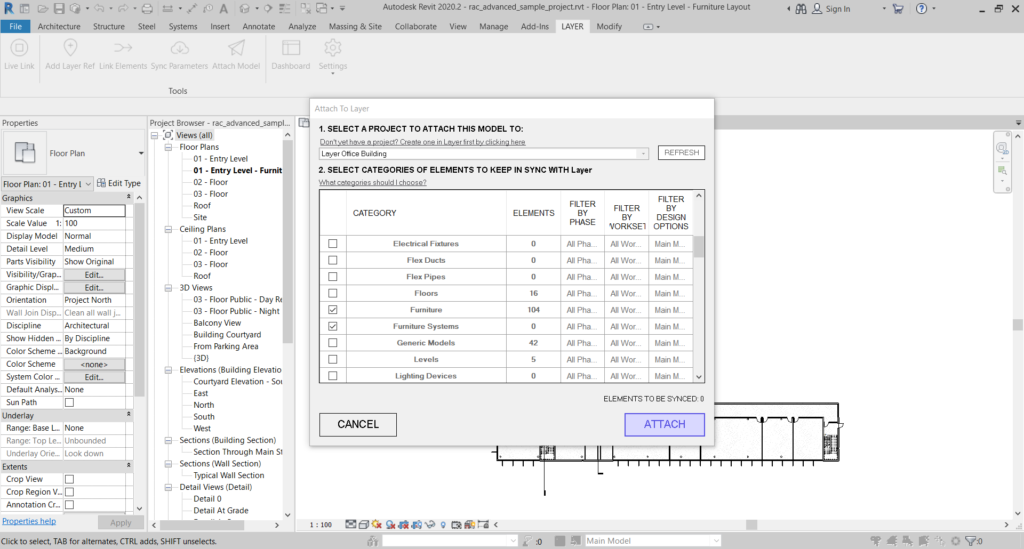 Layer App-What is FF&E-FF&E Workflows in Revit-1